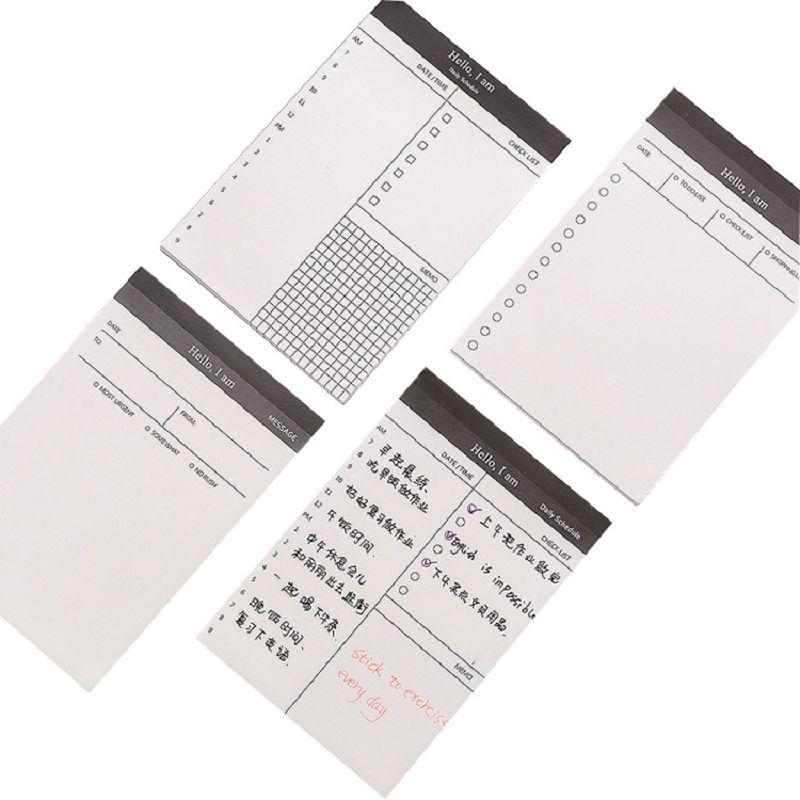 Канцелярские товары kawaii, стикеры для записей, оформление офиса, список оформлений, блокнот, планшетов, планшетов, неделя