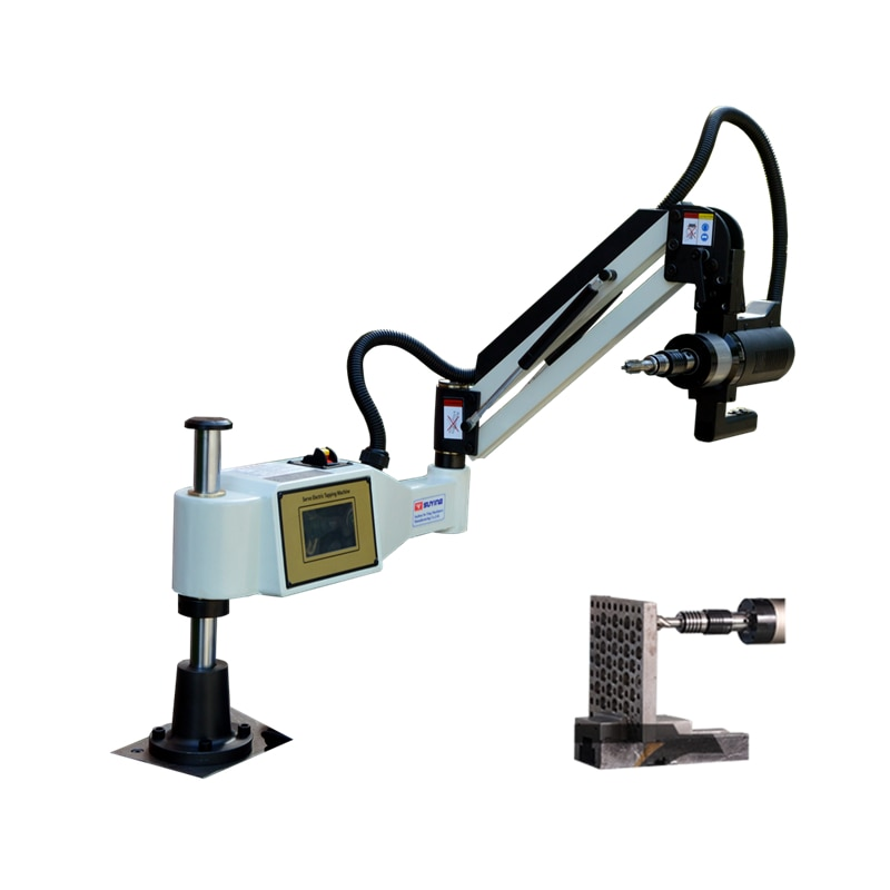Máquina de roscado eléctrica M3-M36 para procesar agujeros de tornillo