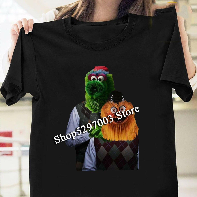 Gritty paso hermano amor Philly Hockey mascota camiseta negro tamaño S-3Xl Camiseta cómoda