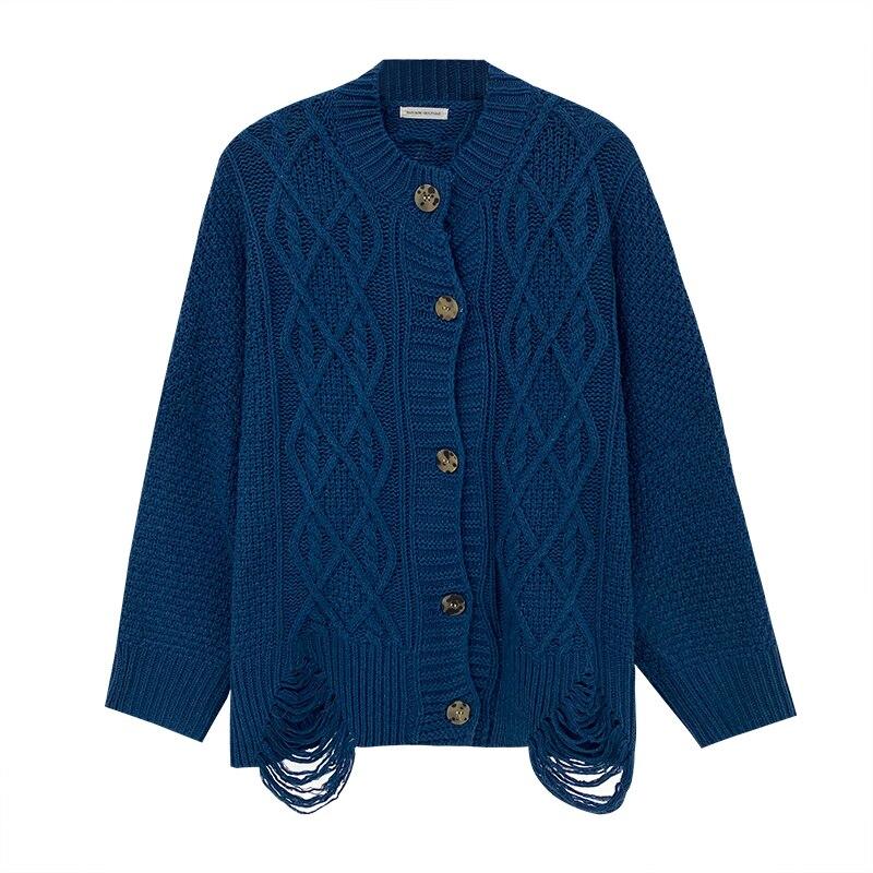 Autumn Cardigan for Women Sweater Korean Style Long Sleeve Top Women Y2k Ladies Oversize Cardigan Female Coat Winter Clothes enlarge