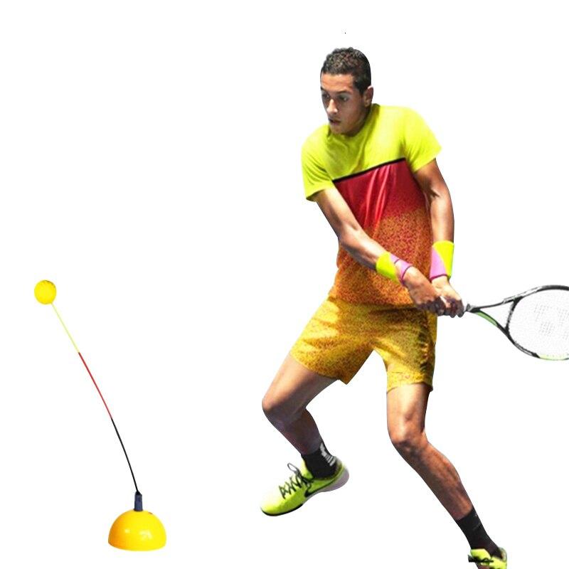 Портативный тренировочный инструмент для тенниса, профессиональный тренировочный тренажер, стереотип, качающийся мяч, машина для начинающих, теннисные аксессуары L2126