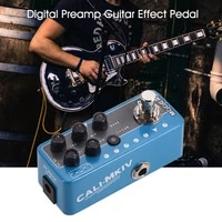 mooer 017 cali mkiv micro preamp pedal guitar parts effect multi effects dual channels 3 speaker cab simulation electric guitar