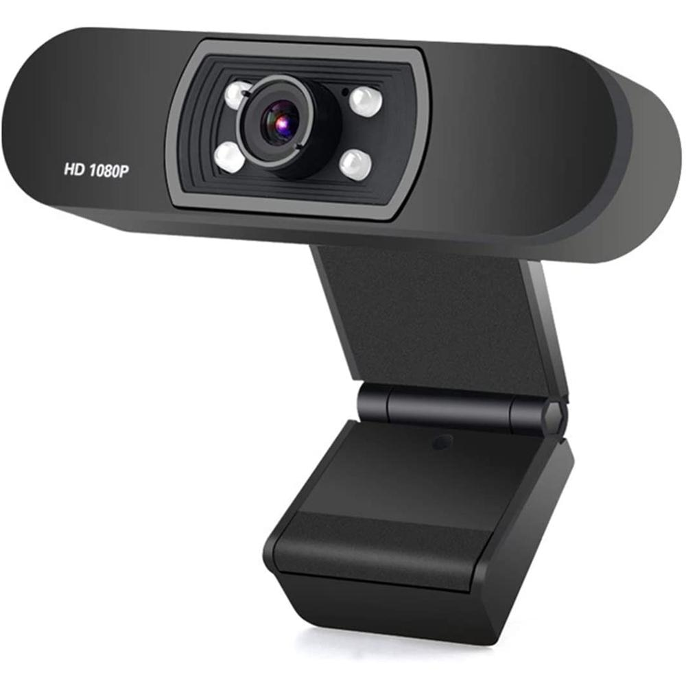 Cámara Web de ordenador HD 1080P Webcam micrófono integrado CMOS cámara Web de videollamada de alta gama 2 millones de píxeles para ordenador portátil