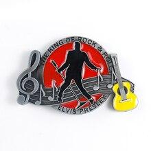 Rock musique groupe métal boucle de ceinture pour hommes personnalité hommes boucles de ceinture mode occidentale boucle Cowboys Cowgirls accessoires