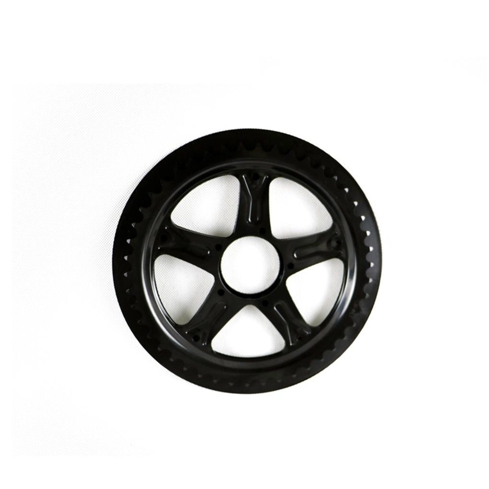 Free shipping 46T bafang sprocket bicycle crankset chain wheel for 8FUN BBS01/BBS02 motor kit chainwheel gypsy