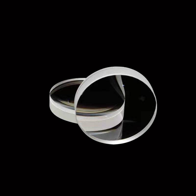 Оптическая линза диаметром 42 мм, Длина фокусного расстояния 126 мм