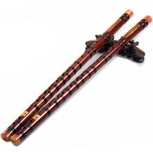 Flute with Mouthpiece Musical Instrument Bamboo Flute C D E F G Transverse flauta instrumento musical bateria profissional bag