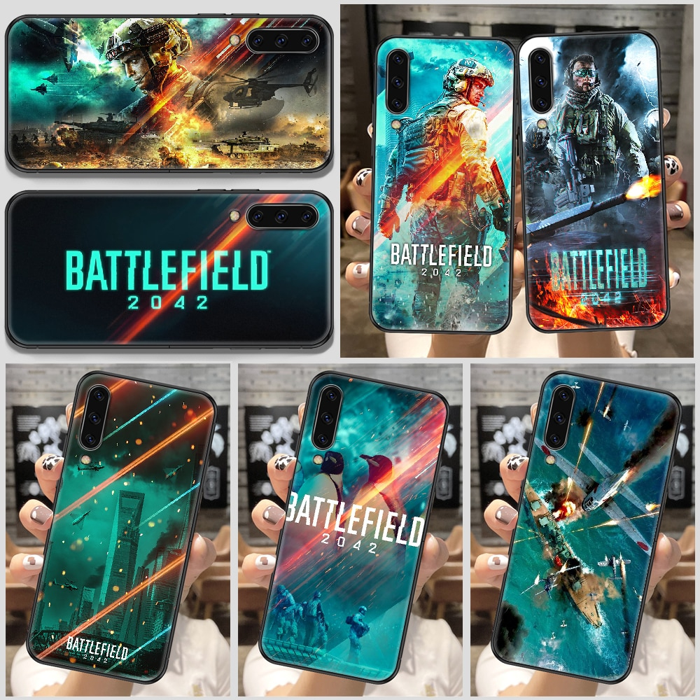 Battlefield 2042 Game Phone Case For Samsung Galaxy A 10 12 20E 21S 30 32 40 50 51 52 70 71 72 5 6 7 2016 2018 black silicone