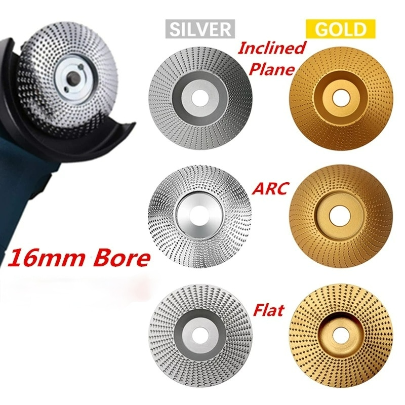 high quality woodworking grinding wheel rotary disc sanding wood carving tool abrasive disc tools for angle grinder 16mm bore 16MM Bore Woodworking Grinding Wheel Rotary Disc Sanding Wood Carving Tool Abrasive Disc Tools For Angle Grinder
