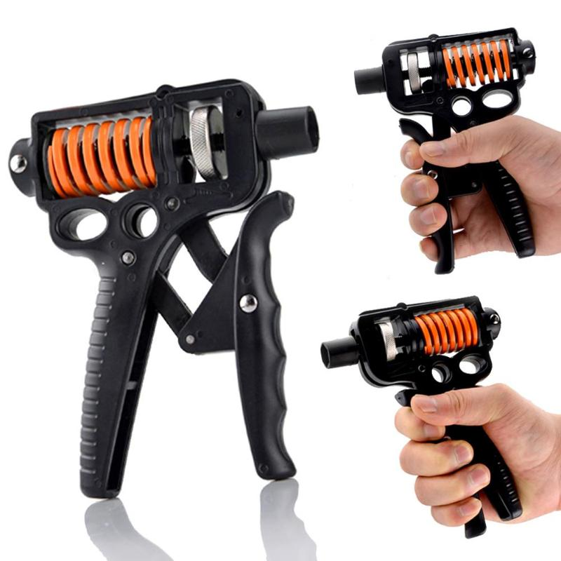 Apertos de dedos ajustáveis treinamento de pulso gripper gym power fitness apertos de mão necessários interior braço treinamento força gadgets