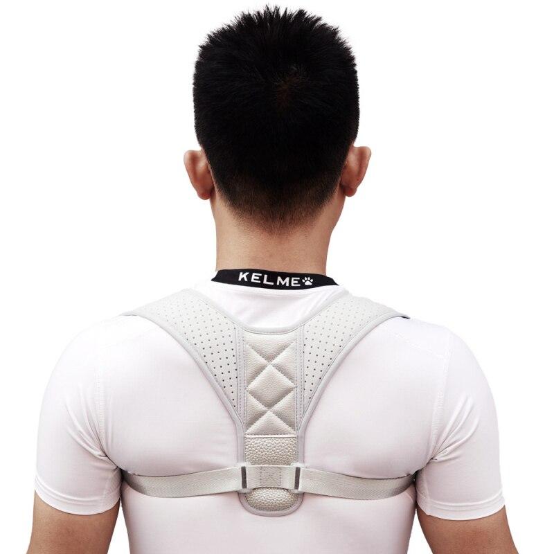 Corrector de postura de espalda ajustable hombres mujeres tamaño grande columna vertebral soporte hombro apoyo lumbar cinturón de corrección de postura
