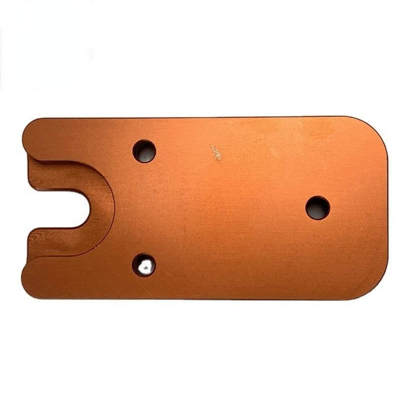 Алюминиевые двухколесные запасные части 11 см/9 мм, запчасти для ЧПУ, услуги OEM по обработке, услуги 3d-печати, услуги ЧПУ прототипирования