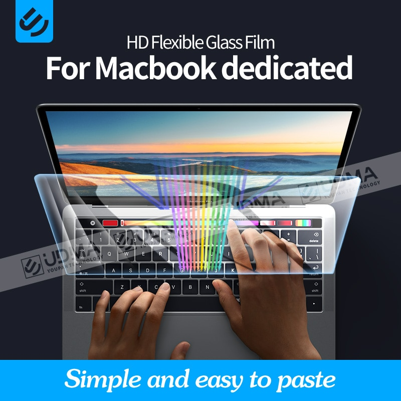 UDMA Anti-blue for Macbook Pro air 13 2020 M1 Chip A2337 2338 واقي شاشة 13 15 16 2179 2289 1706 2251 فيلم زجاجي مرن