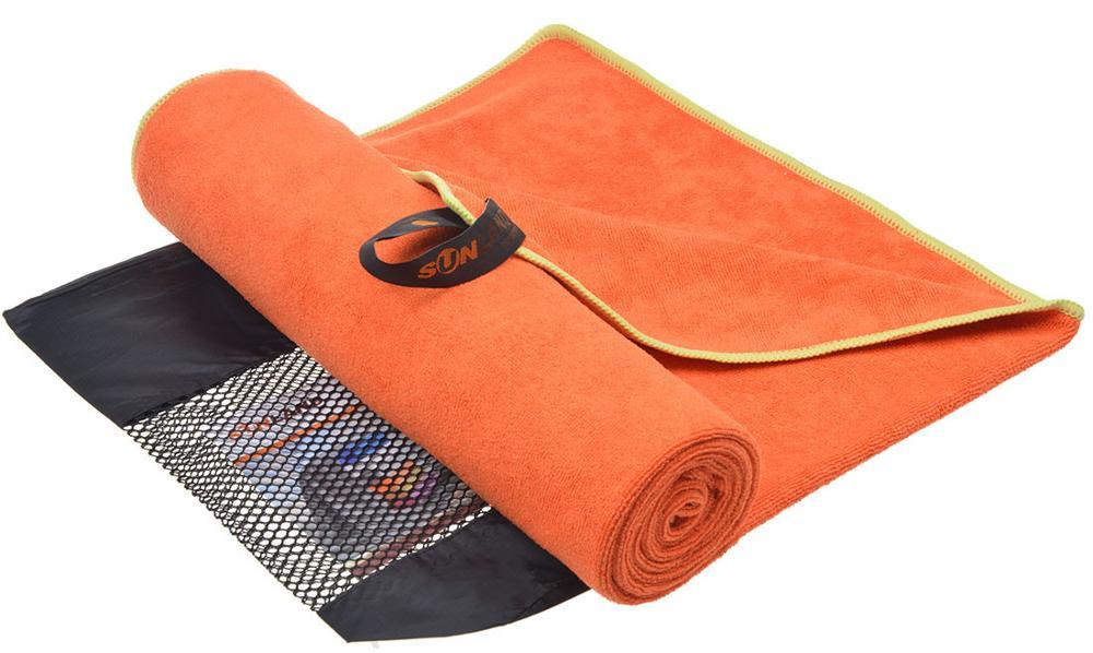 Sunland, toalla de microfibra para secado de cabello de 60cm x 120cm, toalla deportiva, Toalla de baño con bolsa para viajes al aire libre, acampar, gimnasio, entrenamiento, 1 paquete