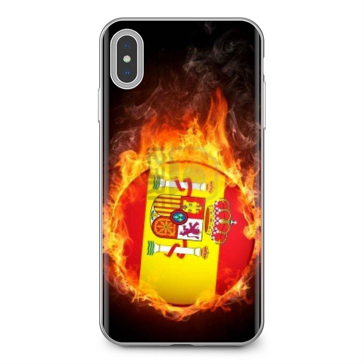 Spain Euro 2016 Squad Logo For BQ Aquaris C U2 U V X2 X Lite Pro Plus E4.5 M4.5 X5 E5 4G M 2017 Cute Silicone Phone Case