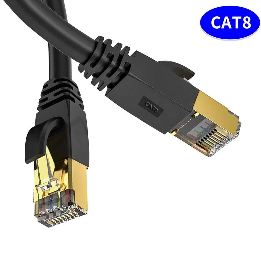 Cable Ethernet Cat 8, Cable de red LAN Cat8 Rj45, Cable de...