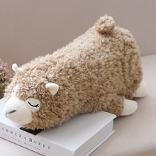 Cute Down Cotton Fluffy Plush Doll Alpaca Decor Plush Pillow Christmas Birthday Kids Gift Alpaca Plush Toys
