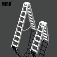 1/10 Scale RC Crawler Accessories Aluminum Herringbone Ladder Tools for Traxxas TRX4 RC4WD Axial SCX10 CC01 D90 D110 Car Part