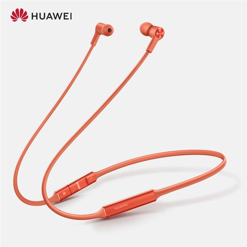 Original Huawei FreeLace deporte auricular Bluetooth inalámbrico Cable de memoria de auriculares Metal cavidad IPX5 auriculares de carga rápida