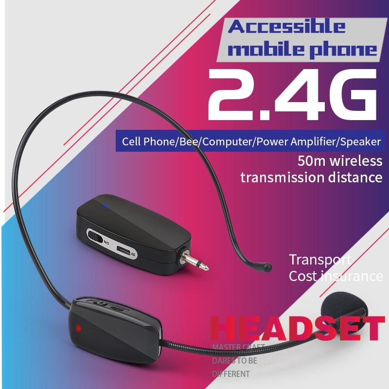 Teléfono móvil/abeja/ordenador/amplificador de potencia/altavoz 50m transmisión inalámbrica distancia maestro/Conferencia/transmisión en directo