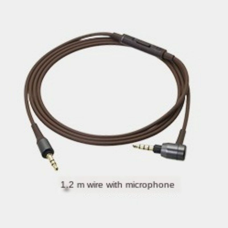 ATH-MSR7 3.5mm male-to-male stereo audio cable replaces headphone cable for ATH MSR7 remote cable