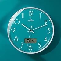 12 inch living room wall clock nordic creative simple household clock mute quartz clock home decor