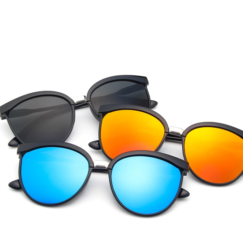 Fashion Round Spectacle Sunglasses Men Women European And American Style Sports Outdoor Colorful Ref