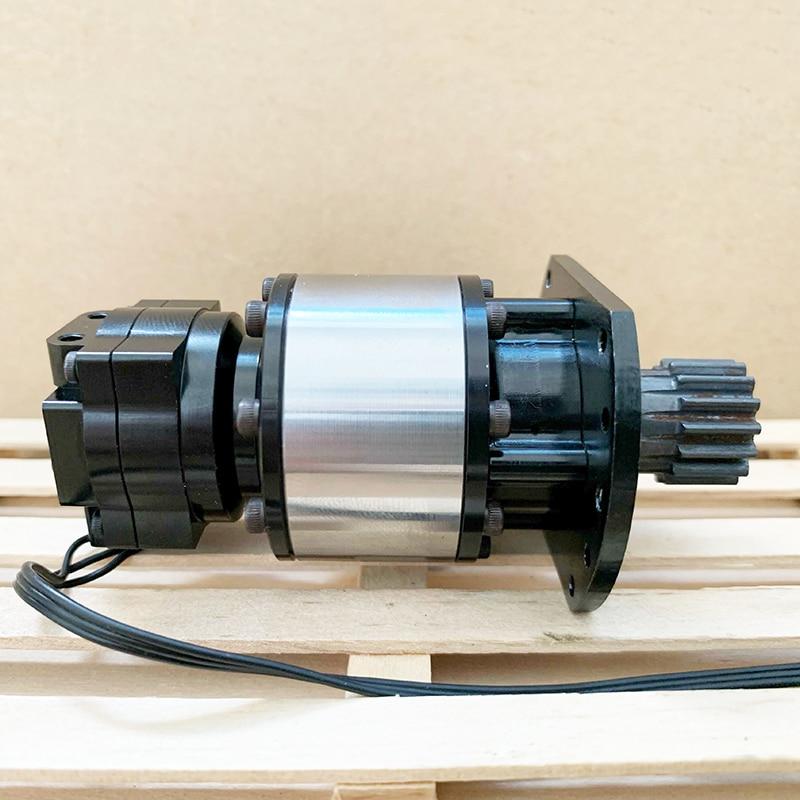 WS-10 Simulation Hydraulic Excavator Rotary Motor Model High Torque Brushless Planetary Rotary Motor Robot Drive enlarge