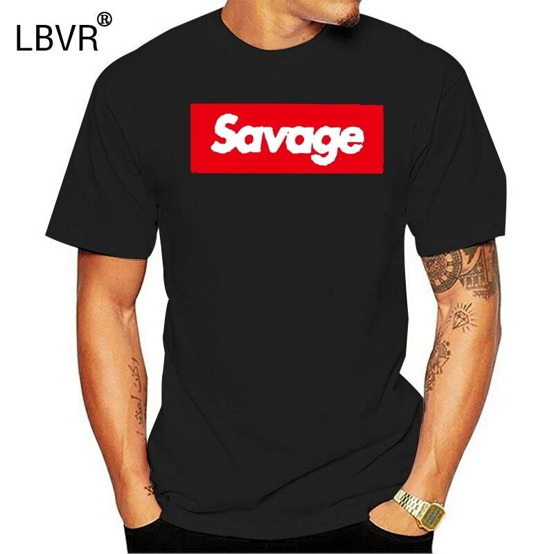 21 Savage новейшая Мужская футболка красная Opps Swag Rapper Savage печать Camisa коробка логотип футболки хорошее качество Трэшер Тройник топы