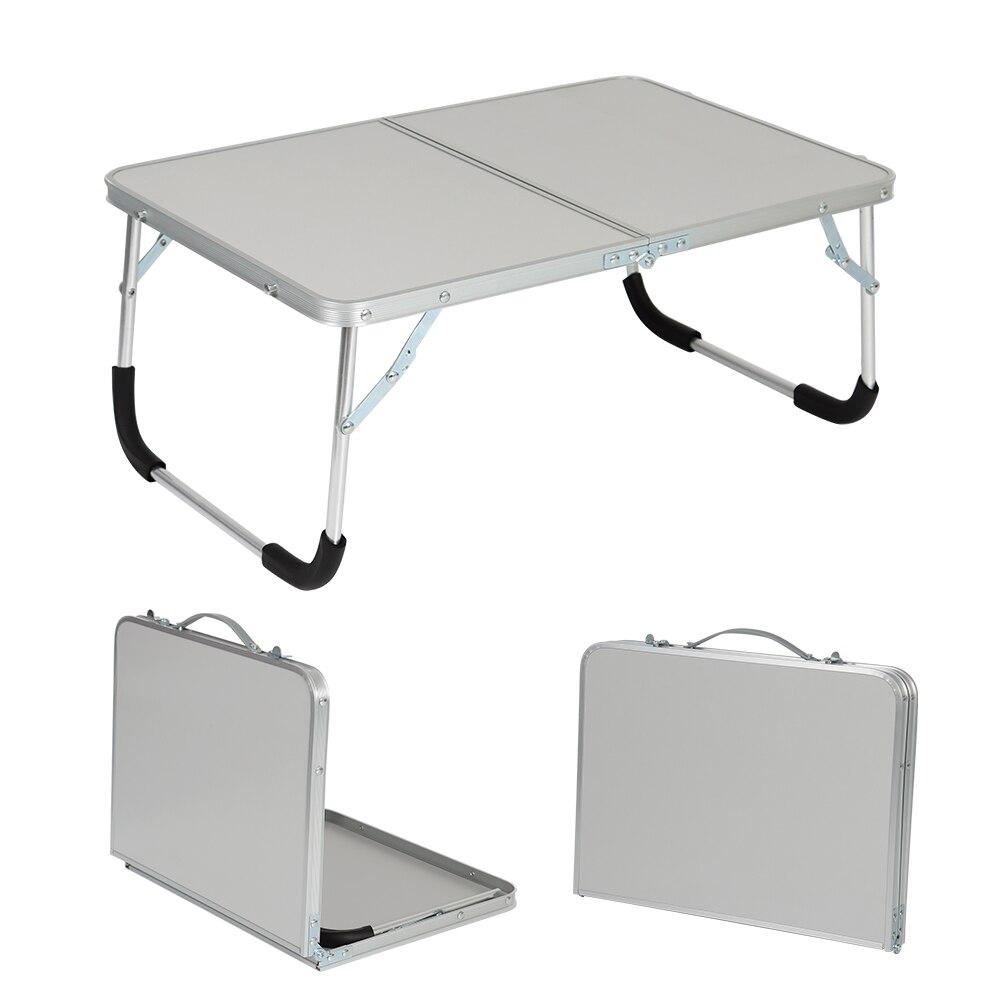 محمول في الهواء الطلق طاولة قابلة للطي التخييم نزهة سبائك الألومنيوم مكتب للحاسوب شخصي طاولة حاسوب المياه دائم برهان خفيفة للغاية
