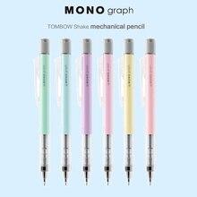 1 pièce 0.3mm 0.5mm TOMBOW MONO graphique secouez plomb crayon mécanique mignon automatique crayon créatif modélisation étudiant papeterie