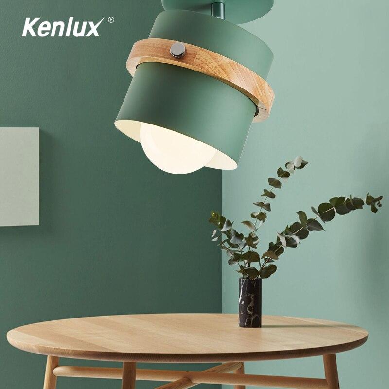 Luz LED de pared de madera de 5W, luz Led montada en superficie para techo, luz nórdica para vestíbulo interior, lámpara de techo para sala de estar o dormitorio