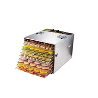 10 layer food dehydrator dryer fruit dryer commercial stainless steel food dryer dried vegetables and pet snacks 1000w