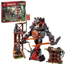 734 PCS 10583 Ninja Figures Set Compatible Lepinblock Dawn of Iron Doom Ninjagoes 70626 Building Blocks Toys for Children Kids