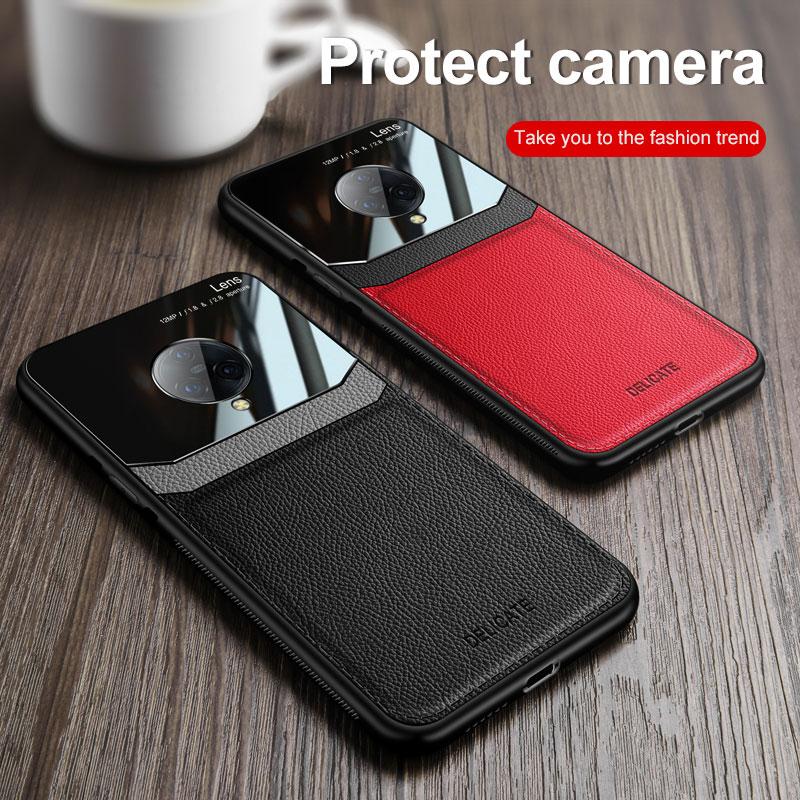 Чехол для телефона Vivo Nex 3 3s 5G чехол Роскошный деловой ПК Ретро зернистый Кожаный противоударный бампер зеркальный ЧЕХОЛ ДЛЯ Vivo Nex 3