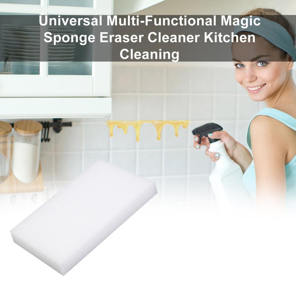 5/10/20/50/100Pcs Multi-functional New Sponge Eraser Home Melamine Sponge Window Seat Cleaning Interior Eraser Kitchen Hygiene