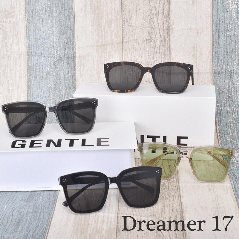 2020 New Fashion Korea Brand Sunglasses Square Acetate Polarized UV400 Gentle Dreamer 17  Sunglasses women men With brand Case