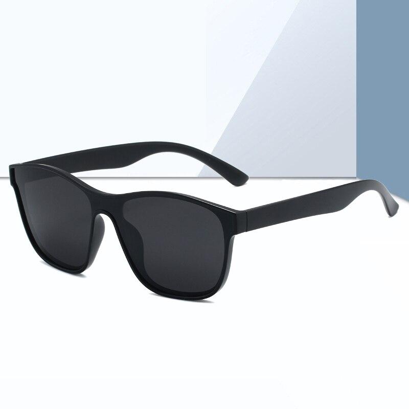 Новинка 2021, квадратные поляризационные солнцезащитные очки для мужчин и женщин, модные квадратные солнцезащитные очки для мужчин, брендовы...