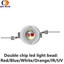 100pcs High Power led 3W 10W led 150LM 220LM 3.2-3.4V 3W White led lamp 2700-3500K