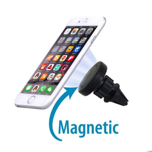 Soporte de teléfono de coche de gravedad, soporte magnético de Clip de ventilación para IPhone X Xiaomi, accesorios de coche, Interior TXTB1