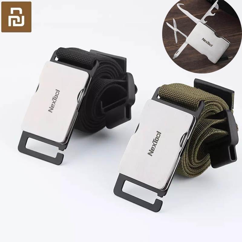 Nouveau xiaomi Youpin unisexe outil taille multifonctionnel militaire ventilateur ceinture extérieure spécial soldat entraînement Nylon ceintures