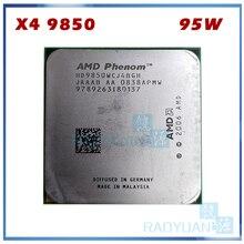 AMD Phenom X4 9850 Quad-Core DeskTop 2.5 GHz CPU HD9850WCJ4BGH HD985BWCJ4BGH 95 W Socket AM2 + 940pin