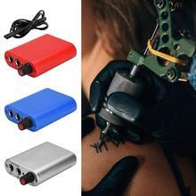 Mini Professional Rotary Tattoo Machine Gun Tattooist Body Art US Mini Power Supply Easy to Operate and Use 10x7.5x2.8cm