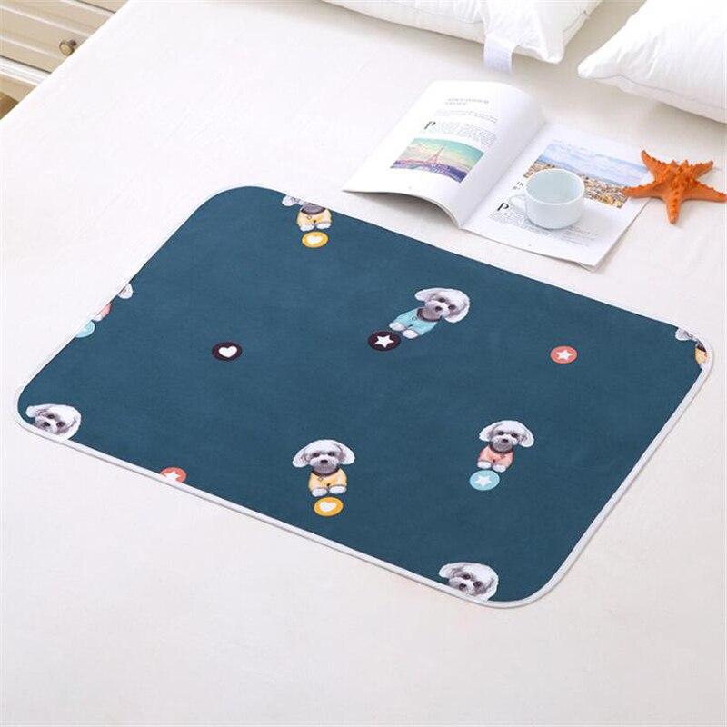 Reusable Cloth Diaper Baby Changing Pad Mattress Diaper Newborn Cotton Washable Waterproof Travel Mat Cover Sheet