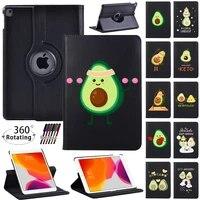 360 rotating for apple ipad mini 1 2 3 4 5genipad 2 3 4 5 6 7 8 gen cover tablet pu leather automatic sleep wake case pen