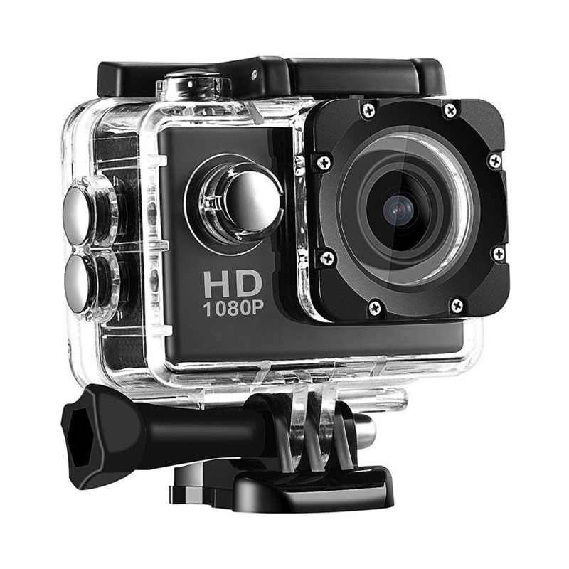 EV5000 Action Camera, 12MP 500W Pixels 2 Inch LCD Screen, Waterproof Sports Cam 120 Degree Wide Angle Lens, 30M Sport Camera DV