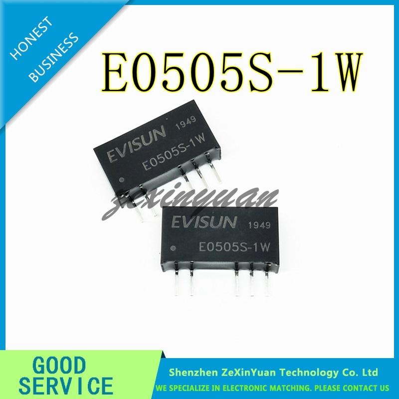 2 uds-10 Uds E0505S-1W E0505S 5V a 5V SIP-5 nuevo módulo de potencia