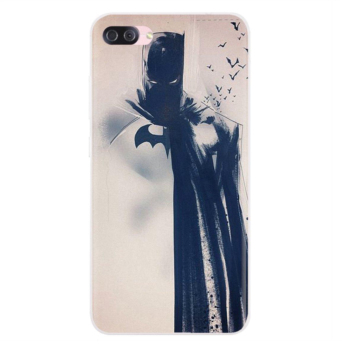 Para Samsung Galaxy J1 J2 J3 J4 J5 J6 J7 J8 Plus 2018 primer 2015 de 2016 2017 suave carcasa Super Héroes Batman Hombre Murciélago de Superman