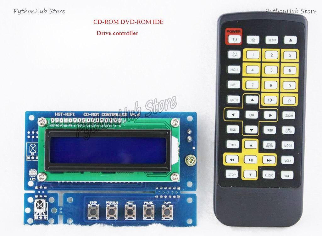 CD-ROM DVD-ROM IDE محرك الأقراص الضوئية تحكم لاعب البصرية محرك تحويل الدوار CD [كيت]