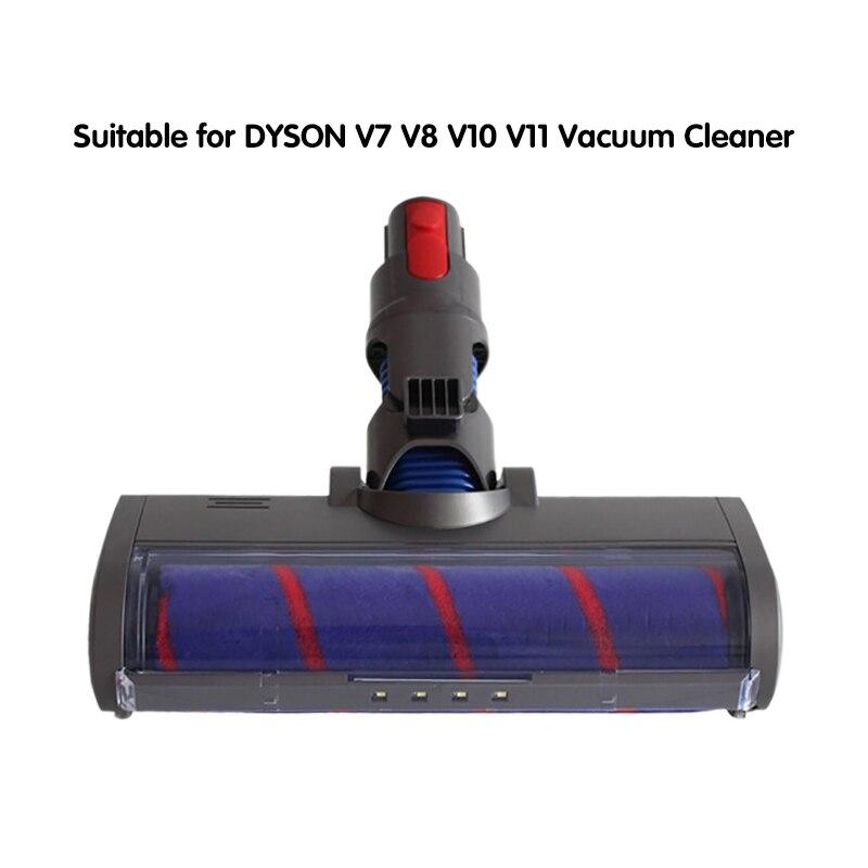 Cabezal de rodillo suave para aspiradora Dyson V7, V8, V10, V11, piezas...